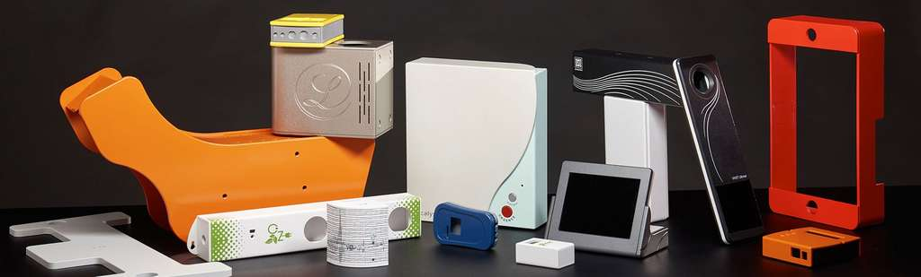 Tous les types de boîtiers sont possibles, avec ou sans écran, avec ou sans boutons. © Revoluplast