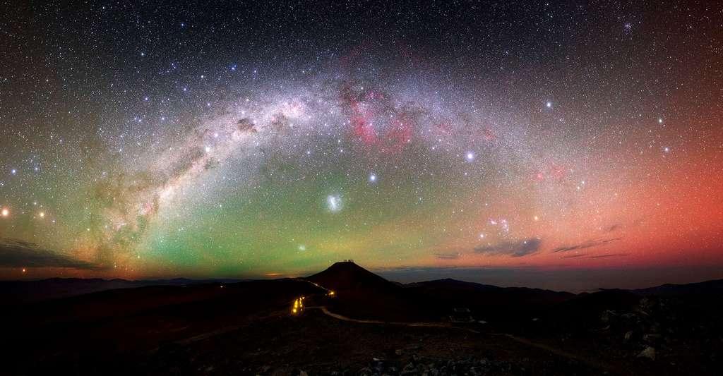 Vue du ciel au Chili. © Y. Beletsky (LCO)/ESO, CC BY 4.0