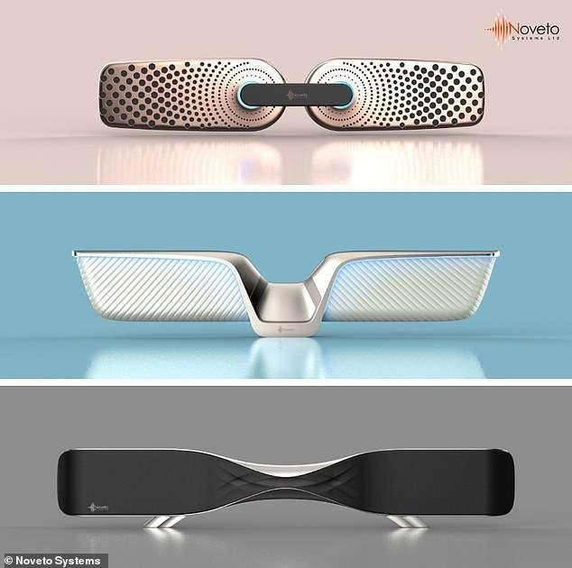 Bientôt des modèles au design futuriste. © Noveto Systems