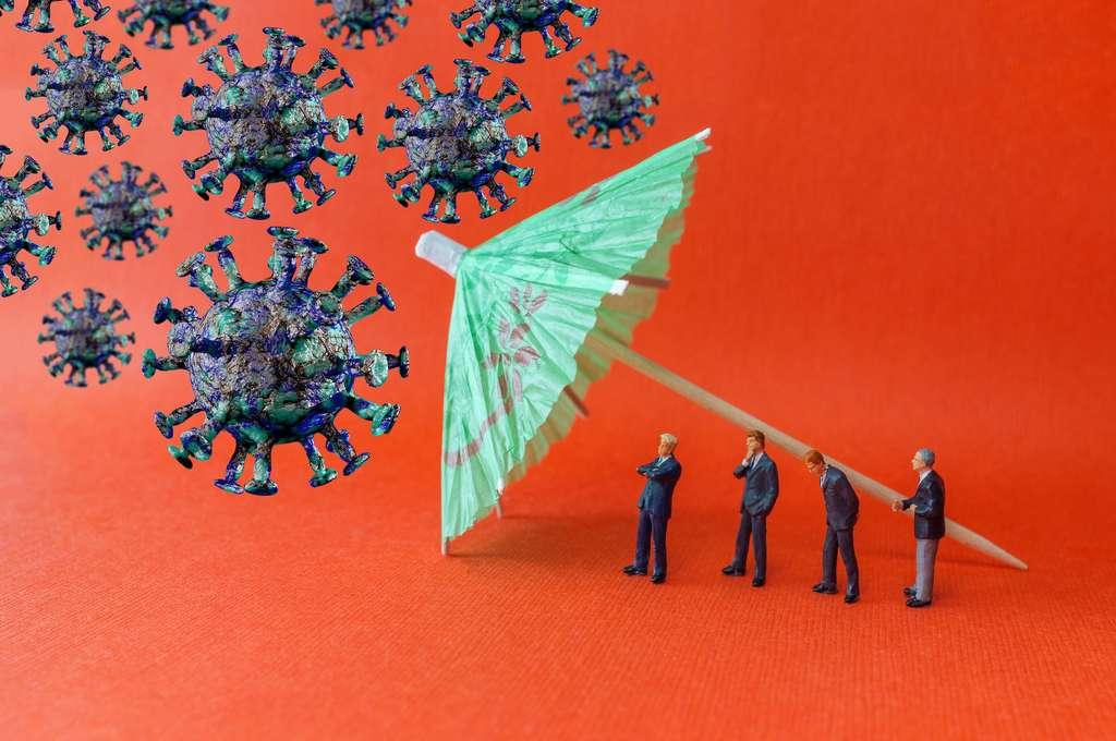 Étant donné qu'on ignore la durée de protection après une infection au coronavirus, miser sur une telle immunité pour enrayer définitivement l'épidémie est risqué. © Ezume Images, Adobe Stock