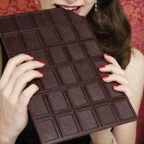 Les chocolatomanes, accros au chocolat, vont s'en donner à cœur joie ! Crédits DR