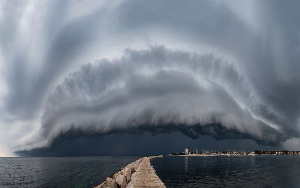 Le Monstre. © Maja Kraljik, Royal Meteorological Society