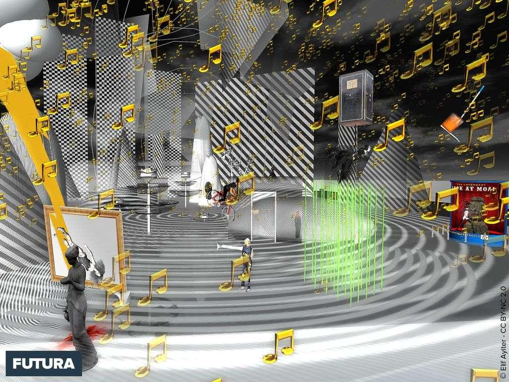 Salle de musique du futur