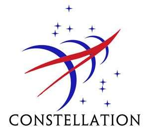 Sigle du programme Constellation. Cédit Nasa