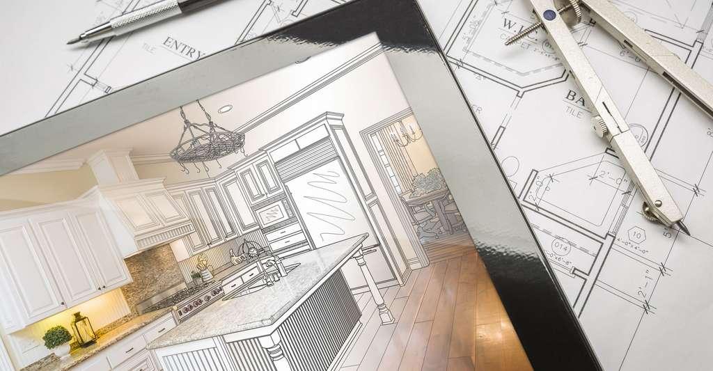 Pour l'aménagement de la cuisine, il faut d'abord se poser les bonnes questions. © Andy Dean Photography Shutterstock