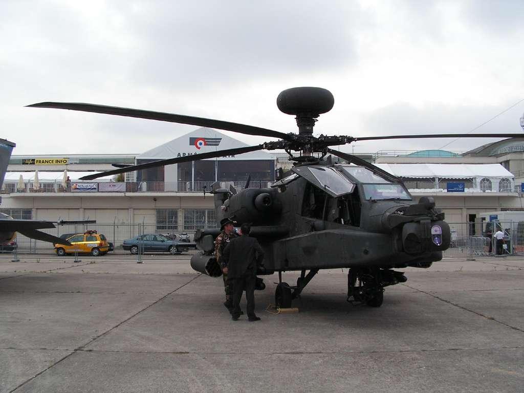 Les avions américains exposés au Bourget