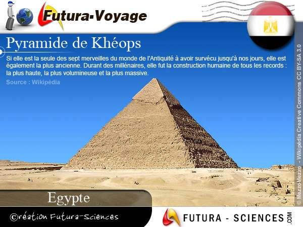 Pyramide de Khéops - Egypte