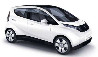 La Blue Car, voiture électrique. © Bollore