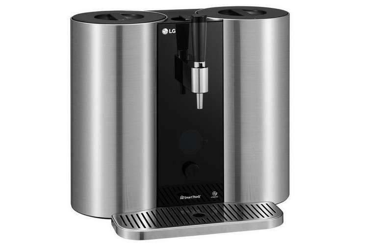 La machine à brasser la bière Homebrew de LG n'a pas encore de date de commercialisation. © LG