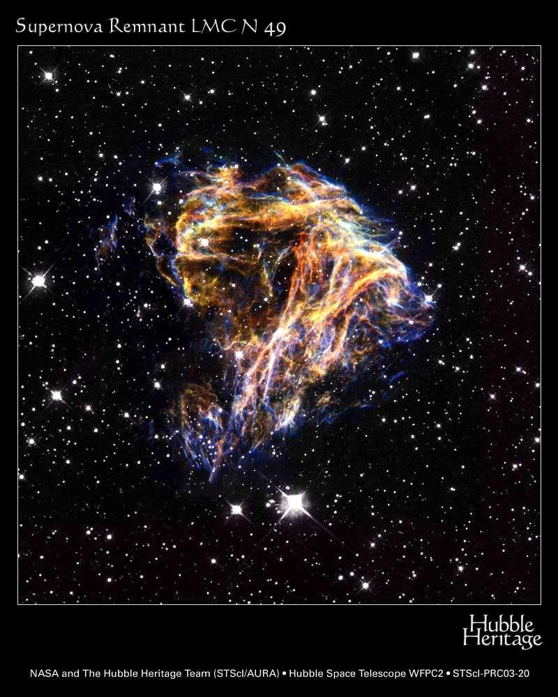 Hubble : Supernova