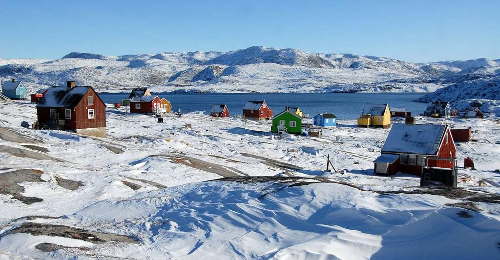 Les travaux de l'équipe internationale de glaciologues se résument ainsi : au Groenland, la fonte glaciaire observée depuis huit ans est équivalente à celle des quatre dernières décennies. © Thomas_Ritter, Pixabay License
