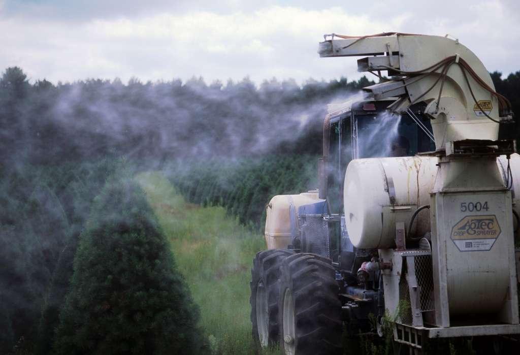 Dans certaines cultures, les pesticides sont épandus massivement. La technique n'a rien de nouveau et déjà par le passé, certains produits ont été utilisés à foison, ce qui explique que certains composés, interdits depuis des années, sont encore présents dans le sol... et dans le sang. © Wisconsin Department of Natural Resources, Flickr, cc by nd 2.0