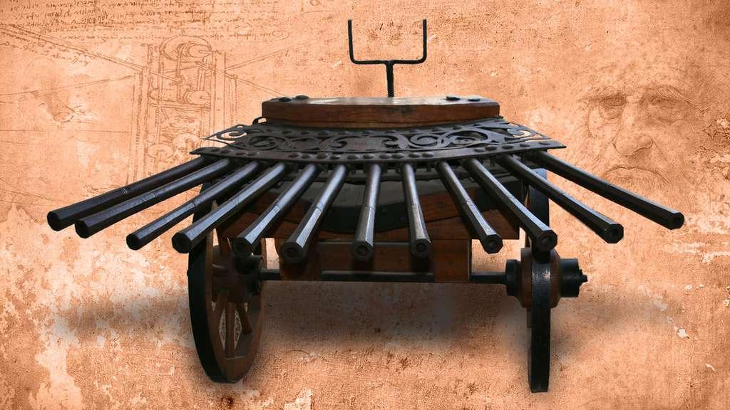 Léonard de Vinci : mitrailleuse ou ribaudequin