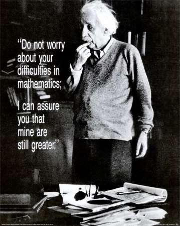 Albert Einstein (Crédit : 1998-2007 AllPosters.com. Tous droits réservés).