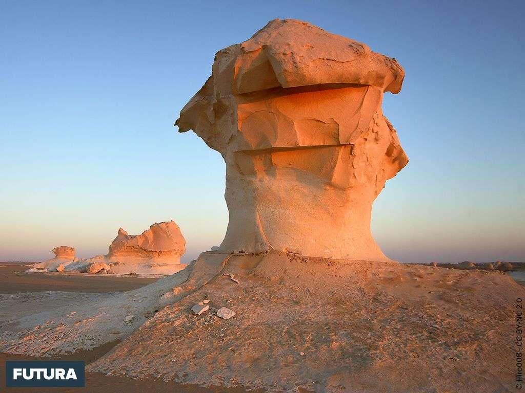 Désert blanc - Egypte
