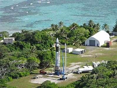 Le site de lancement de SpaceX. Crédit SpaceX.
