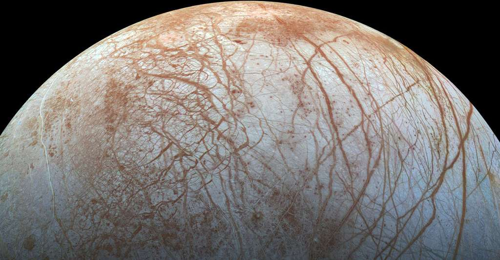 Europa. © Nasa/Jet Propulsion Lab-Caltech/Seti Institute, Wikimedia commons, DP