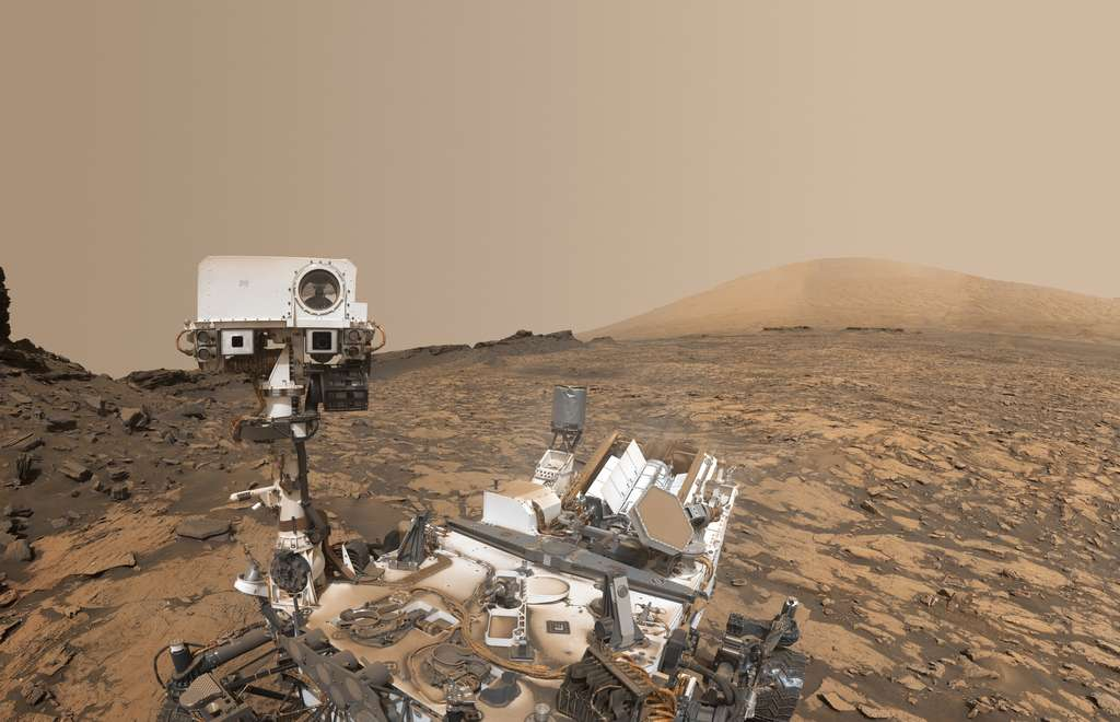 Autoportrait de Curiosity à « Murray Buttes »