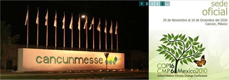 Le centre d'exposition et de conférences CancunMesse, à Cancun, accueillera les 192 délégations prêtes à discuter climat. © DR