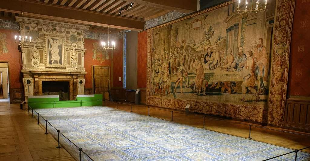 Grande salle du roi au château d'Écouen. © Marie-Lan Nguyen, Wikimedia commons, CC by 4.0