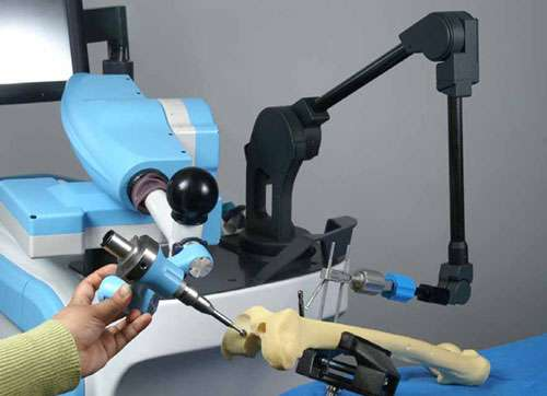 Le comanipulateur parallèle Acrobot Sculptor. © DR