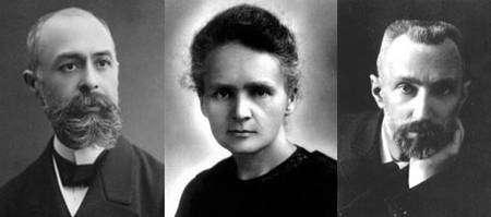 Henri Becquerel - Marie et Pierre Curies, les pionniers