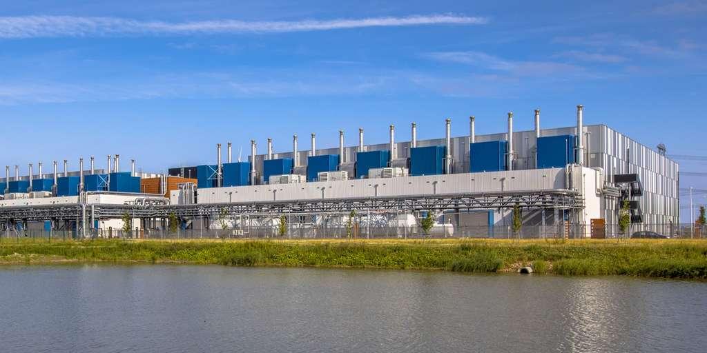 Le data center de Google, à Eemshaven, aux Pays-Bas, est alimenté en énergie renouvelable à 100 %.© creativenature.nl, Adobe Stock