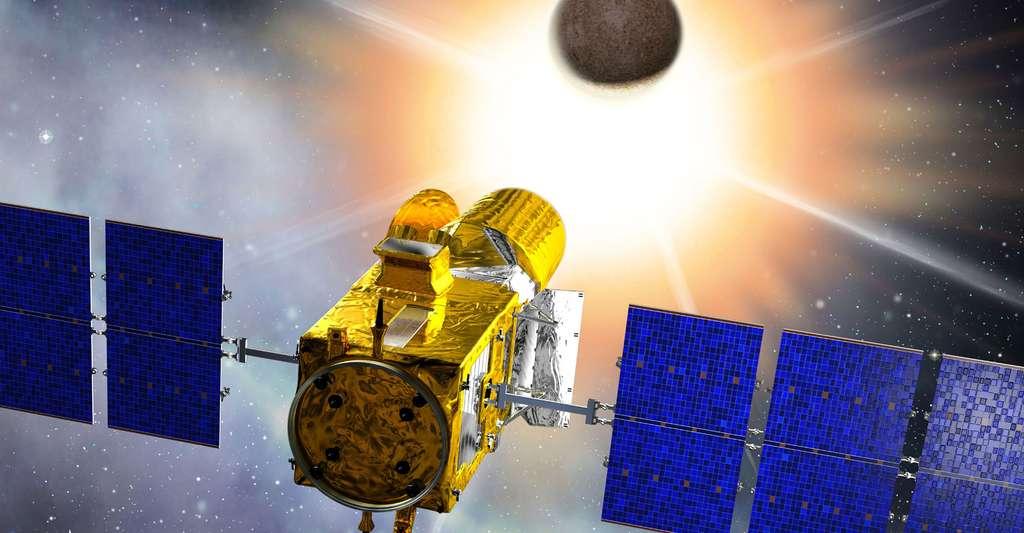 Satellite COROT. © CNES/D. Ducros
