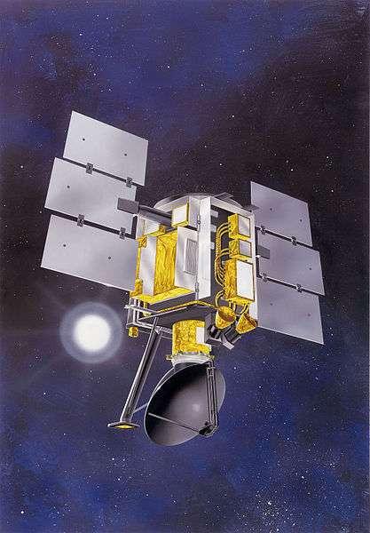Le satellite QuickScat a été lancé le 19 juin 1999. Il fonctionna plus de 10 ans, au lieu des deux à trois années prévues, avant de devenir inopérant le 23 novembre 2009. Ses sondes devaient avant tout permettre d'étudier les vents à la surface de la Terre. © Nasa, JPL