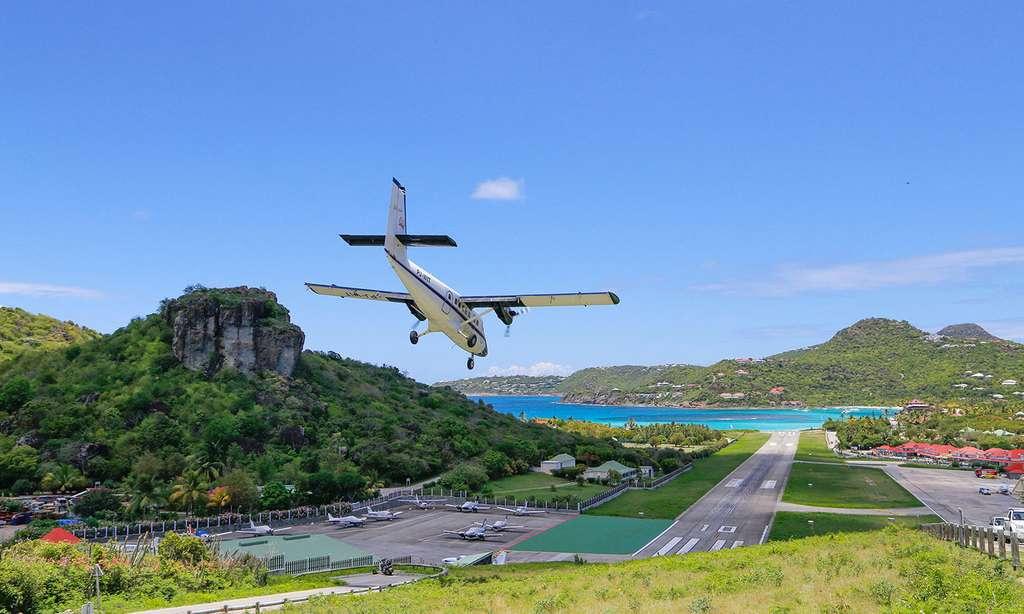 Une piste très courte pour un atterrissage en douceur. © Antoine, tous droits réservés