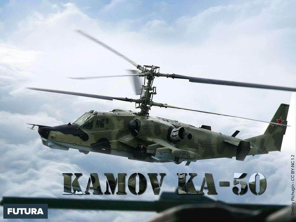 Hélicoptère russe Air Force Kamov Ka-50