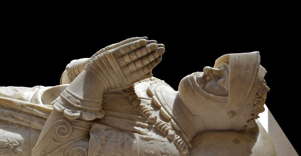 Détail du gisant du Connétable Anne de Montmorency (1493-1567). © Jebulon, Wikimedia commons, DP
