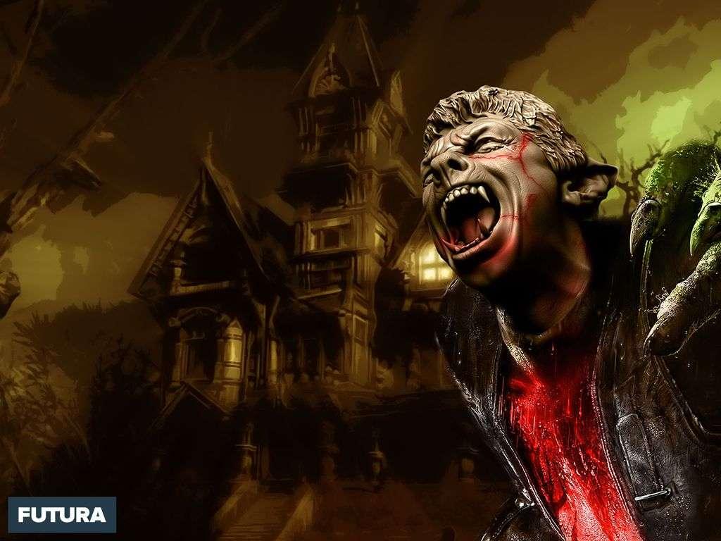 La maison hantée d'Halloween
