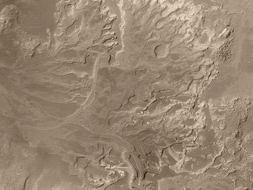 Des traces de rivières passées