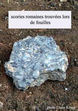 Scorie romaine (Montagne Noire).