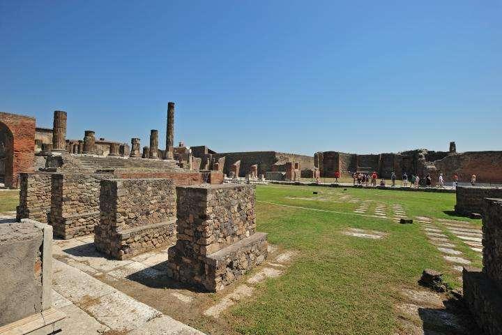 L'exceptionnel site de Pompéi comporte un très grand nombre de vestiges figés en excellent état de conservation. © Phototeca Enit