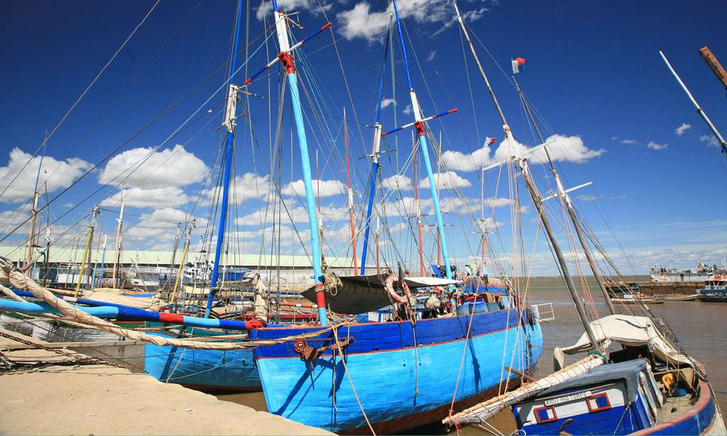 Port des boutres, Majunga, Madagascar