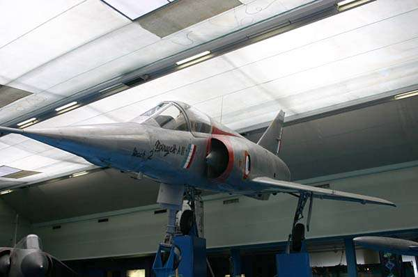 Le Mirage III exposé au Musée du Bourget. © Creative Commons