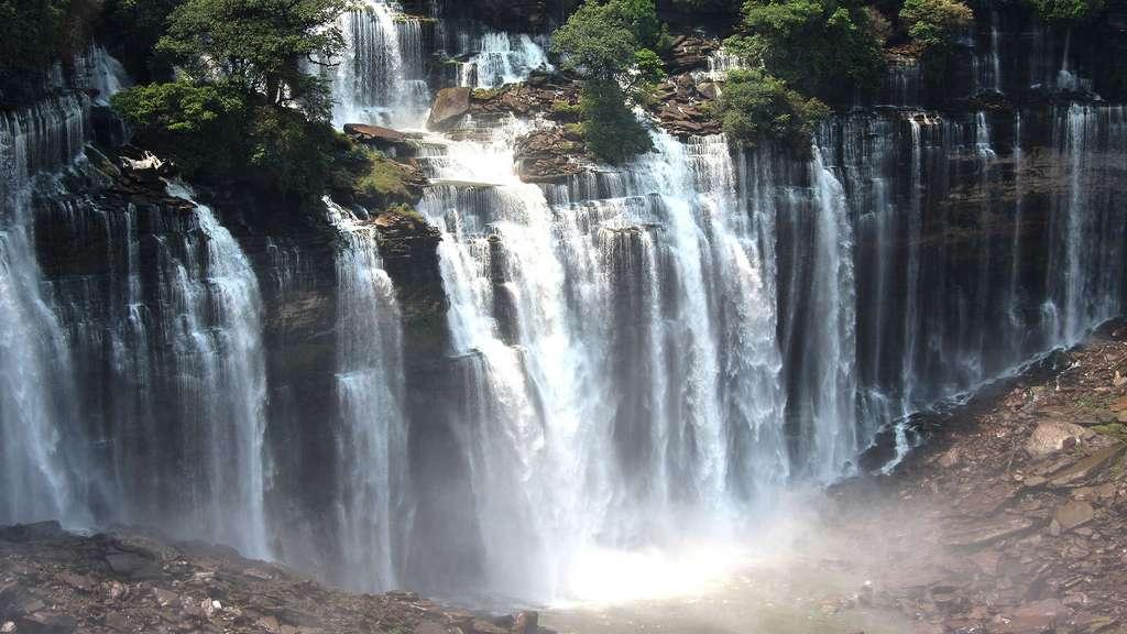 Les chutes de Kalandula en Angola
