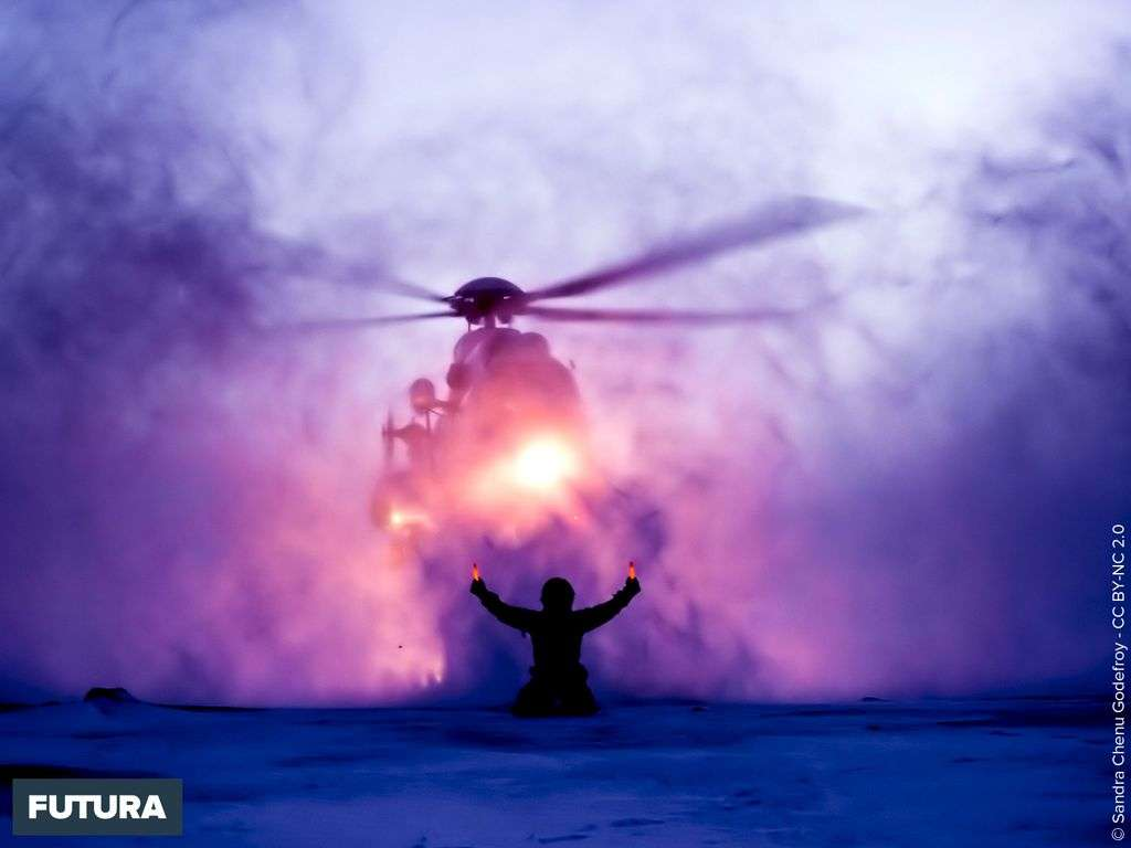 Hélicoptère Super-Puma