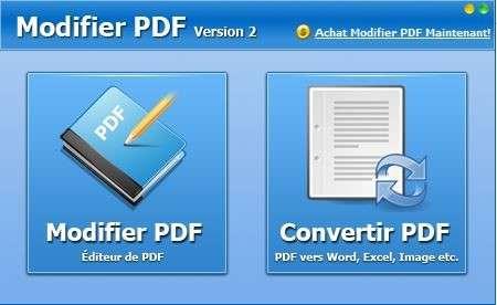 © Modifier PDF