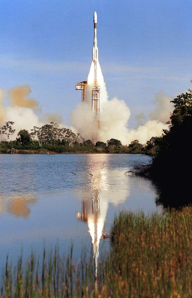 Premier tir d'une Ariane 4