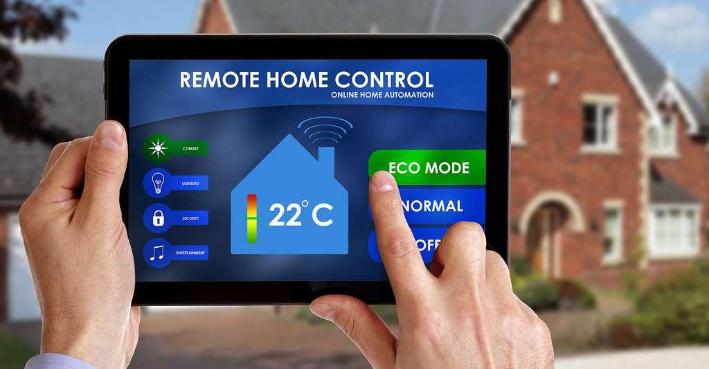 Les diverses applications proposées par la domotique apportent un confort domestique adapté aux besoins. © Brian A Jackson - Shutterstock