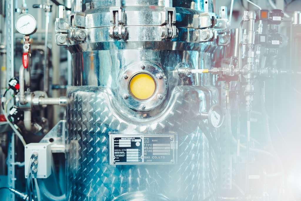 Solar Foods fabrique une poudre de protéines à partir d'eau, d'air et d'électricité grâce à la fermentation microbienne. © Solar Foods