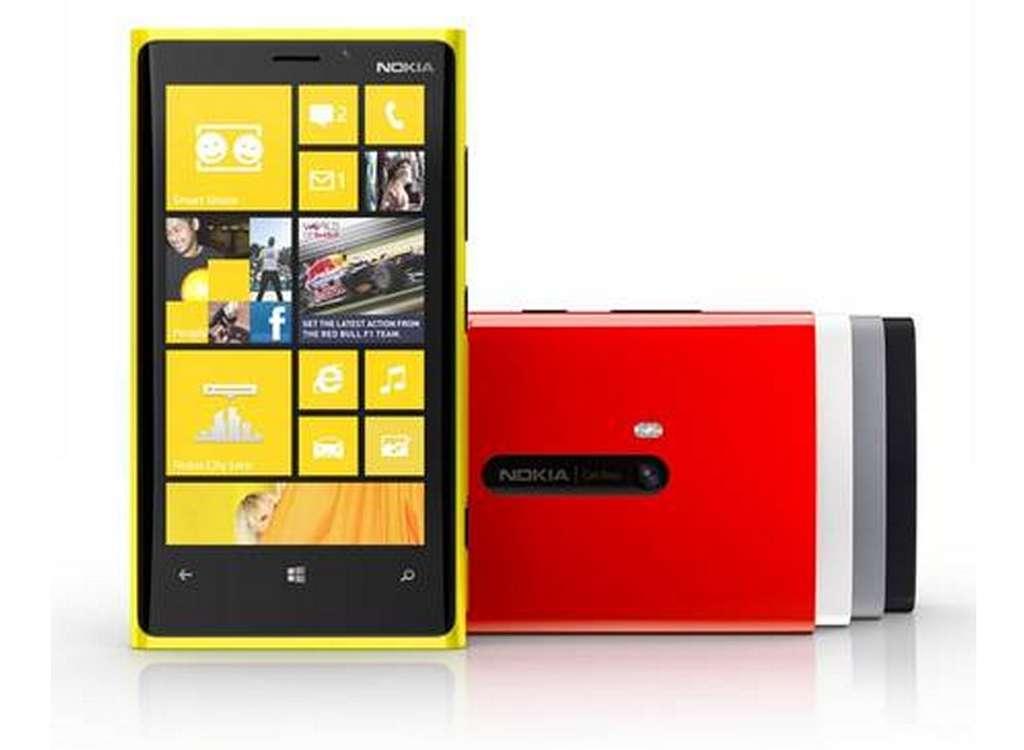 Le Nokia Lumia 920 sera le nouveau modèle haut de gamme de la marque avec son écran de 4,7 pouces et son appareil photo doté d'un système de stabilisation optique d'image. © Nokia