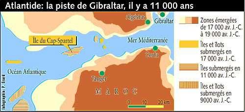 Atlantide : la piste de Gibraltar, un noyau de réel dans le mythe ?