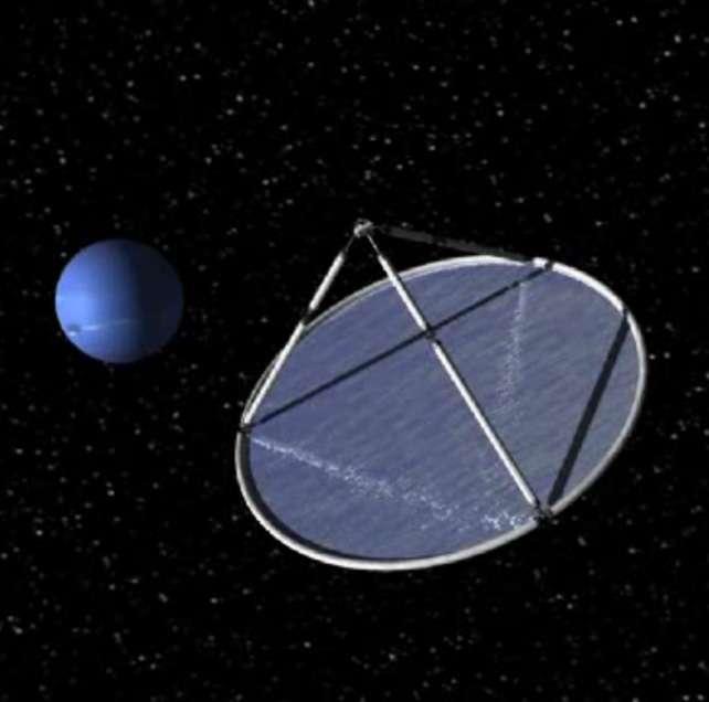 Aujourd'hui, aucun projet en développement ne prévoit d'utiliser une voile solaire comme moyen de propulsion. © Olivier Boisard, U3P