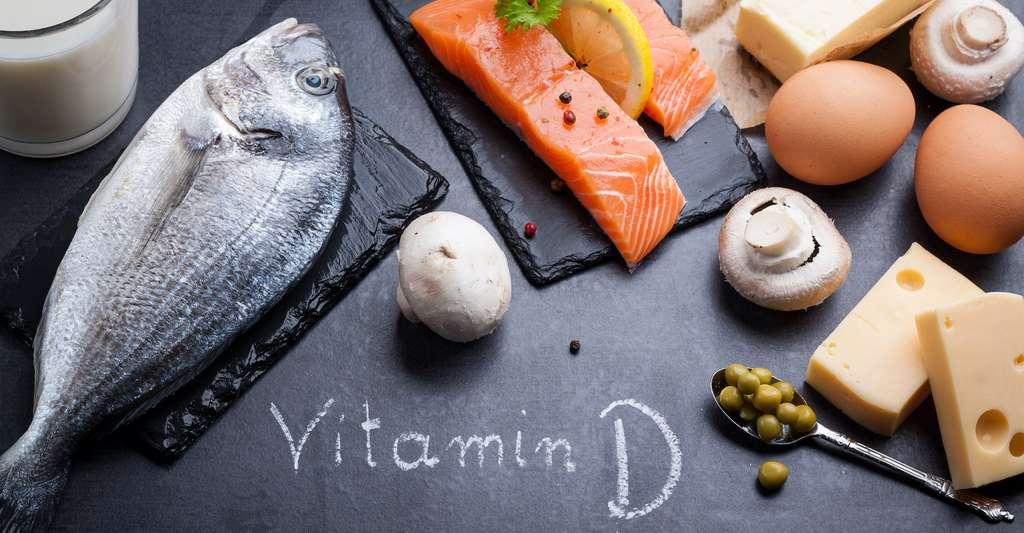 On trouve la vitamine D dans de nombreux aliments gras comme le saumon. © cegli, Adobe Stock