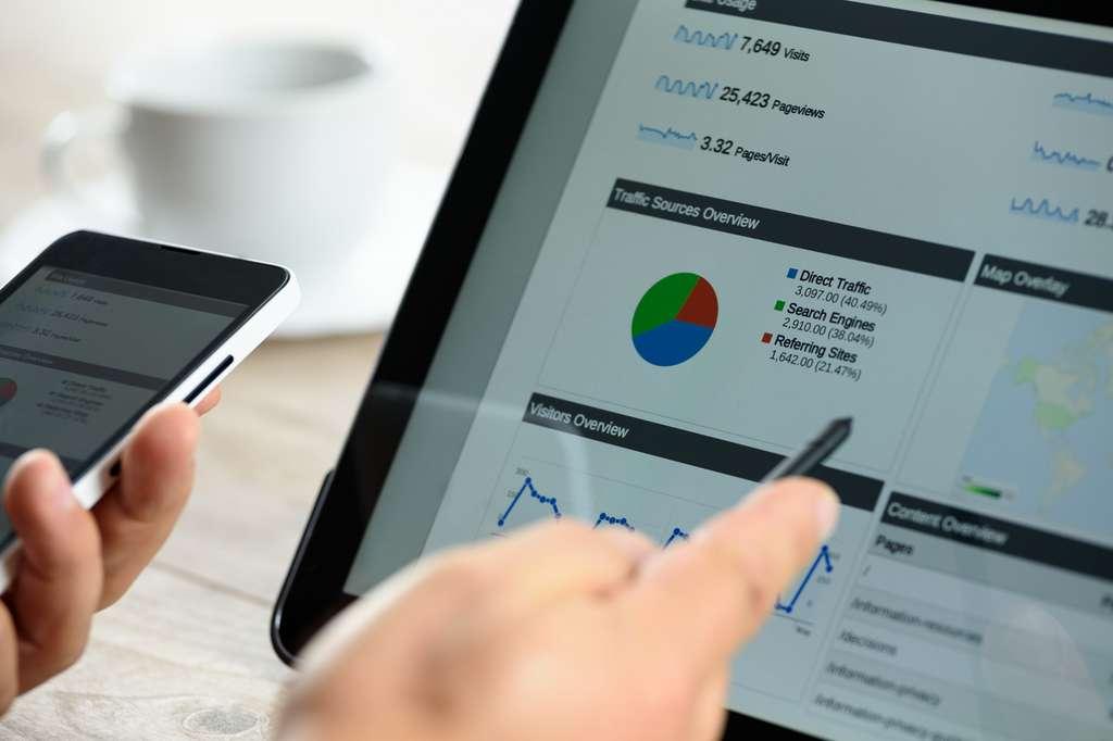 Le webmarketer doit maîtriser les logiciels d'analyse statistique afin de mesurer les impacts de ses campagnes sur le web. © WDnet Studio, Fotolia.