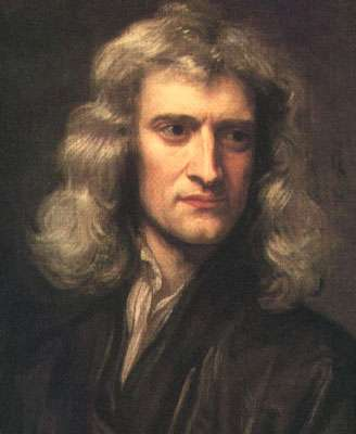 Isaac Newton. © DP